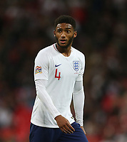 England's Joe Gomez<br /> <br /> Photographer Rob Newell/CameraSport<br /> <br /> UEFA Nations League - League A - Group 4 - England v Spain - Saturday September 8th 2018 - Wembley Stadium - London<br /> <br /> World Copyright &copy; 2018 CameraSport. All rights reserved. 43 Linden Ave. Countesthorpe. Leicester. England. LE8 5PG - Tel: +44 (0) 116 277 4147 - admin@camerasport.com - www.camerasport.com