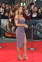 Lauren Pope<br /> 'Rampage'' european film premiere in Leicester Square, London, England on April 11, 2018.<br /> CAP/PL<br /> &copy;Phil Loftus/Capital Pictures