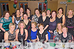 Girls Xmas Night Out - Staff from The Kerry General Hospital Intensive Care Unit pictured having a ball at their Christmas Party held in The Ballyroe Heights Hotel on Friday night. Seated l/r Siobha?n O'Nuallain, Amanda Brolly, Mary Laide, Breda Curran and Helen Conway, standing l/r Cathy Healy, Annie Murphy, Eileen Flahive, Ann Duffin, Leisha Kennedy, Catherine Finn, Margaret Griffin, Irene Carton, Catriona Hartnett, Siobhan O'Sullivan and Mary Lyons..................................................................................................................................................................................................................................................................................... ............