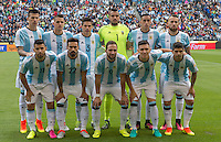 Phote before the match Argentina vs Bolivia , Corresponding Group -D- America Cup Centenary 2016, at CenturyLink Field Stadium, Seattle, Washington, photo:<br /> <br /> Foto previo del partido Argentina vs Bolivia, Correspondiente al Grupo -D-  de la Copa America Centenario USA 2016 en el Estadio CenturyLink Field, Seattle, Washington, en la foto:Seleccion de Argentina<br /> <br /> 14/06/2016/MEXSPORT/DAVID LEAH