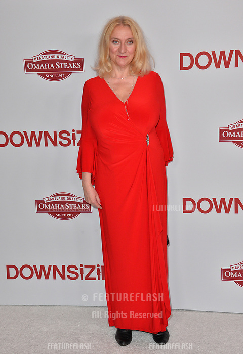 Margareta Pettersson at the special screening of &quot;Downsizing&quot; at the Regency Village Theatre, Westwood, USA 18 Dec. 2017<br /> Picture: Paul Smith/Featureflash/SilverHub 0208 004 5359 sales@silverhubmedia.com