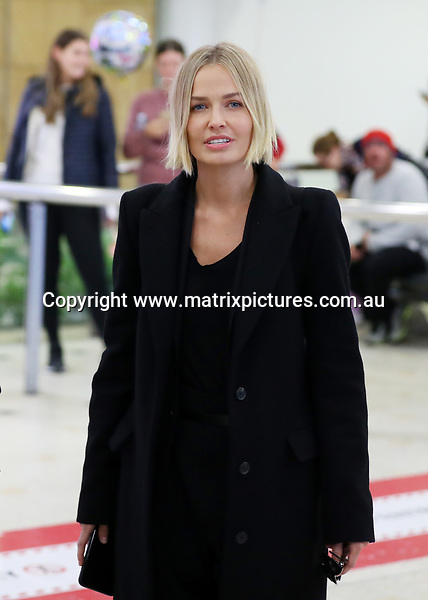 31 MAY 2017 SYDNEY AUSTRALIA<br /> WWW.MATRIXPICTURES.COM.AU<br /> <br /> EXCLUSIVE PICTURES<br /> <br /> Lara Worthington pictured on arrival into Sydney.<br />  <br /> Note: All editorial images subject to the following: For editorial use only. Additional clearance required for commercial, wireless, internet or promotional use.Images may not be altered or modified. Matrix makes no representations or warranties regarding names, trademarks or logos appearing in the images.