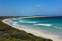 This gorgeous arc of white sand at Vivonne Bay on Kangaroo Island off South Australia was recently named Australia's best beach.