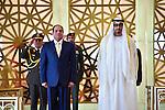 Egyptian President Abdel Fattah al-Sisi meets with Abu Dhabi Crown Prince Sheikh Mohammed bin Zayed al-Nahyan in Abu Dhabi, United Arab Emirates, on Dec. 01, 2016. Photo by Egyptian President Office
