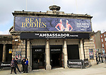 The Ambassador Theatre showing Real Bodies, city of Dublin, Ireland, Irish Republic, March 2017
