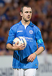 St Johnstone v FC Luzern...24.07.14  Europa League 2nd Round Qualifier<br /> Dave Mackay<br /> Picture by Graeme Hart.<br /> Copyright Perthshire Picture Agency<br /> Tel: 01738 623350  Mobile: 07990 594431