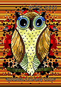 Kris, REALISTIC ANIMALS, REALISTISCHE TIERE, ANIMALES REALISTICOS, paintings+++++,PLKKE660,#a#, EVERYDAY ,owl,owls