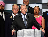 General John Allen (ret. USMC), former Commander, International Security Assistance Forces, and Commander, United States Forces - Afghanistan, makes remarks during the fourth session of the 2016 Democratic National Convention at the Wells Fargo Center in Philadelphia, Pennsylvania on Thursday, July 28, 2016.<br /> Credit: Ron Sachs / CNP<br /> (RESTRICTION: NO New York or New Jersey Newspapers or newspapers within a 75 mile radius of New York City)