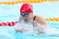 Picture by Alex Whitehead/SWpix.com - 05/04/2018 - Commonwealth Games - Swimming - Optus Aquatics Centre, Gold Coast, Australia - Jocelyn Ulyett of England competes in the Women's 50m Breaststroke heats.