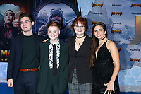 """LOS ANGELES - DEC 9:  Morgan Turner, Family at the """"Jumanji:  The Next Level"""" Premiere at TCL Chinese Theater IMAX on December 9, 2019 in Los Angeles, CA"""