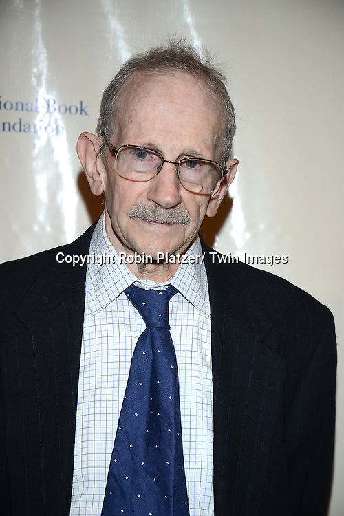 Philip Levine attends the 2013 National Book Awards Dinner and Ceremony on November 20, 2013 at Cipriani Wall Street in New York City.