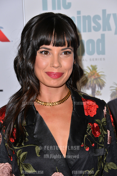 LOS ANGELES, CA. November 10, 2018: Jenna Lyng Adams at the AFI Fest 2018 world premiere of &quot;The Kominsky Method&quot; at the TCL Chinese Theatre.<br /> Picture: Paul Smith/Featureflash
