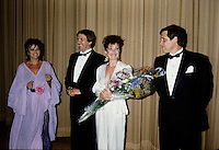 FILE - ,Dorothee Berryman a la premiere du DECLIN DE L'EMPIRE AMERICAIN le 18 Juin 1986