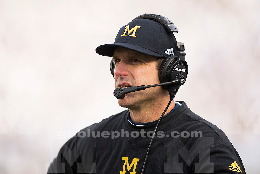 11/21/2015 Michigan football defeats Penn State 28-16 at University Park, PA.