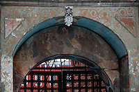 Russia,Moscow,Krutitskoye Podvorye,Ecclesiastic Residence,baroque Gate Tower