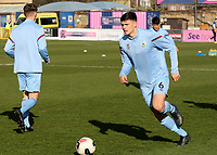 Edon Pruti of Burnley U23's warms up ahead of kick-off during Crystal Palace Under-23 vs Burnley Under-23, Premier League Cup Football at Champion Hill Stadium on 6th February 2020