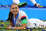 FIFA Women's World Cup France 2019 - Final USA vs NED in Lyon, on July 7, 2019. Alex Morgan (USA) FW