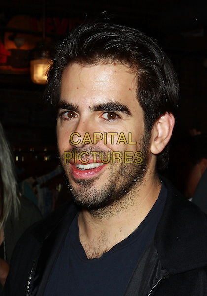 ELI ROTH .WGACA 1 Year Anniversary Party  held at Space15Twenty, Los Angeles, California, USA, 18th March 2010..one arrivals portrait headshot black  beard facial hair mouth open .CAP/ADM/TC.©T. Conrad/AdMedia/Capital Pictures.