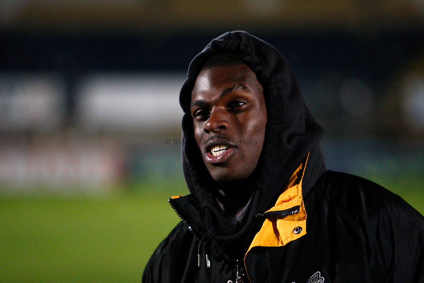 Photo: Richard Lane/Richard Lane Photography. London Wasps v Worcester Warriors. LV= Cup. 18/11/2012. Wasps' Christian Wade.