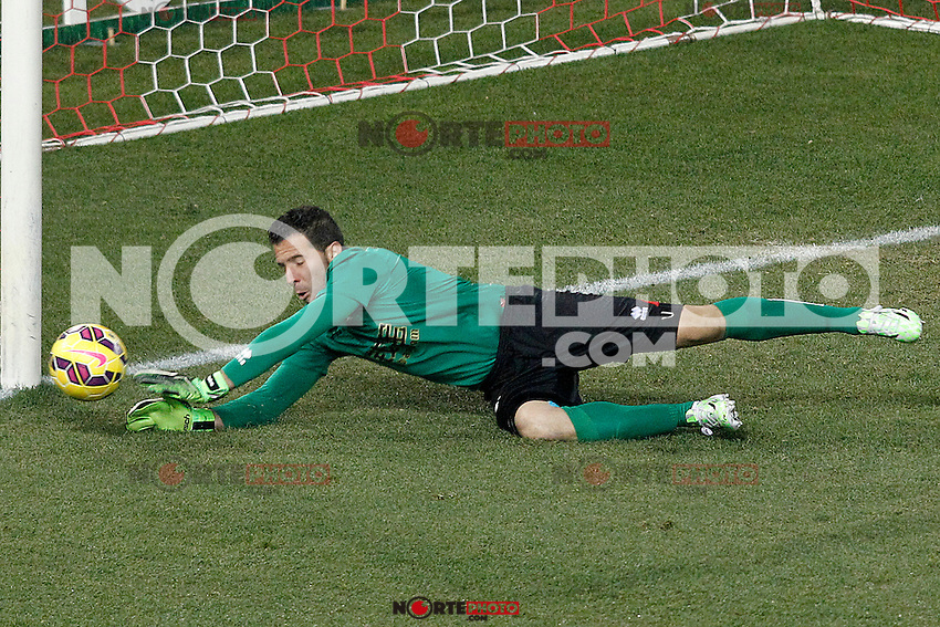 Rayo Vallecano's Tono Rodriguez during La Liga match.January 24,2015. (ALTERPHOTOS/Acero) /NortePhoto<br />