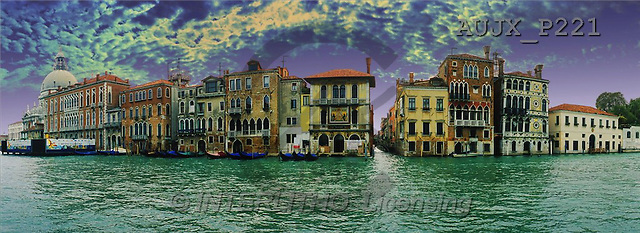 Dr. Xiong, LANDSCAPES, panoramic, photos, Venice essential, Italy(AUJXP221,#L#)