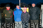 Lixnaw Dawn Mass: attewnding the dawn Mass at Kiltomey Graveyard on Easter Sunday morning were Tom Hennessy, James O'Connor, Maria Conway & Fr. Mossie Brick, PP, Lixnaw who celebrated the Mass.