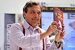 (KIKA) - TORINO - 17/05/2013 A Torino si tiene il 26° Salone del Libro con esposizioni, dibattiti e grandi ospiti, al salone del Lingotto. Piero Chiambretti