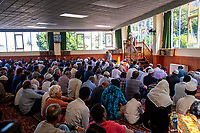 NZ marks one week since Christchurch terror attacks. Wellington Islamic Centre in Wellington, New Zealand on Friday, 22 March 2019. Photo: Dave Lintott / lintottphoto.co.nz