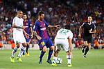 52e Trofeu Joan Gamper.<br /> FC Barcelona vs Chapecoense: 5-0.<br /> Lionel Messi vs Apodi.