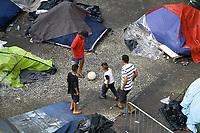 05.07.2018 - Desabrigados continuam acampando no Largo do Paissandu em SP