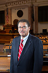 Rep. Jesse Crenshaw, D-Lexington retires after 21 years in the Kentucky General Assembly.  Photographed  by Mark Mahan on December 9, 2014 in Frankfort, Ky.