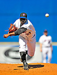 7 March 2009: New York Mets' pitcher Roy Merritt on the mound during a Spring Training game against the Washington Nationals at Tradition Field in Port St. Lucie, Florida. The Nationals defeated the Mets 7-5 in the Grapefruit League matchup. Mandatory Photo Credit: Ed Wolfstein Photo
