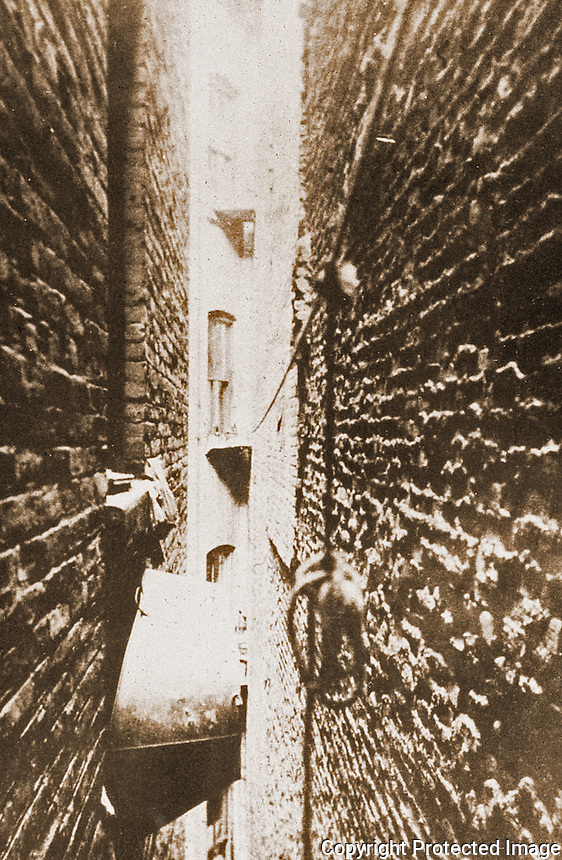 "Historical Photos:   "" Bathtub in Airshaft"" by Jacob Riis, 1890.  Schoener, p. 240.   Photo '77."