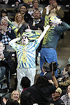 "The ""Dirty Deac""  dances during a break in the action against the Yellow Jackets. Georgia Tech wins 80-54."