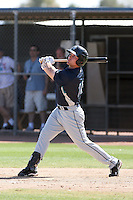 Mickey Wiswall #10 of the Seattle Mariners participates in spring training workouts the Mariners minor league complex on March 12, 2011  in Peoria, Arizona. .Photo by:  Bill Mitchell/Four Seam Images.