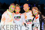 Patrick Culloty, michelle buckley, Stephen Hanley, Aileen kennedy Kilcummin at the Killarney Glow Neon run on Saturday night