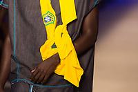 SAO PAULO, SP, 23.10.2018 - MODA-SPFW - Modelo durante desfile da marca Ronaldo Fraga na 46ª edição da Sao Paulo Fashion Week (SPFW), na Arca no bairro Vila Leopoldina na regiao oeste da cidade de Sao Paulo nesta segunda-feira, (Foto: Ciça Neder/Brazil Photo Press)