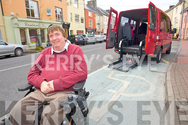 Tralee Mayor Terry O'Brien looking for penalty points to be given to people who park illegally in disabled parking spaces.