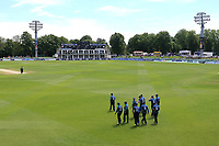 Kent players take to the field during Kent Spitfires vs Essex Eagles, Royal London One-Day Cup Cricket at the St Lawrence Ground on 17th May 2017