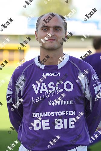 2007-08-04 / Voetbal / Gooreind / Bart Francken