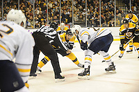 Boston Bruins host the Buffalo Sabres at TD Garden November 12, 2011. Final Bruins 6  Sabres 2...
