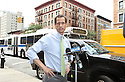 Anthony Weiner speaks to the media after his visit to the Cothoa Luncheon Club on Monday, August 12, 2013 in New York. (AP Photo/ Donald Traill)