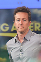 NEW YORK CITY, NY - JULY 31, 2012: Edward Norton at Good Morning America in New York City. Credit: RW/MediaPunch Inc. /NortePhoto.com<br />