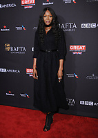 06 January 2018 - Beverly Hills, California - Naomi Campbell. 2018 BAFTA Tea Party held at The Four Seasons Los Angeles at Beverly Hills in Beverly Hills. <br /> CAP/ADM/BT<br /> &copy;BT/ADM/Capital Pictures