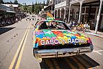 133st annual Italian Benevolent Society Parade and Italian Picnic Parade, Sutter Creek, Calif.