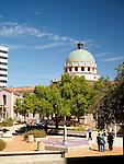 art deco-style Pima County Courthouse building, Tucson, AZ