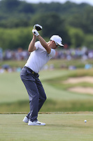 Ross Fisher (ENG) tees off the 7th tee during Friday's Round 2 of the 117th U.S. Open Championship 2017 held at Erin Hills, Erin, Wisconsin, USA. 16th June 2017.<br /> Picture: Eoin Clarke | Golffile<br /> <br /> <br /> All photos usage must carry mandatory copyright credit (&copy; Golffile | Eoin Clarke)