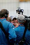 DTM Norisring, 5. Lauf 2008<br /> <br /> #11 Ralf Schumacher (Team: TRILUX AMG Mercedes) mit TRILUX AMG Mercedes C-Klasse (2007) im Mittelpunkt der Medien.<br /> <br /> Foto © nph (nordphoto)