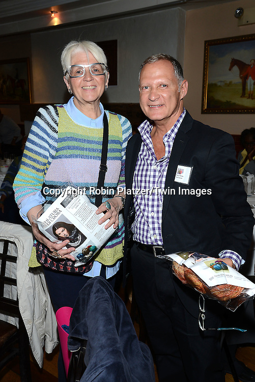 Stacy Charles and Ms Connor attends the Big Apple Knitters Guild Luncheon on September 20, 2014 at Maloney &amp; Porcelli in New York City. <br /> <br /> photo by Robin Platzer/Twin Images<br />  <br /> phone number 212-935-0770