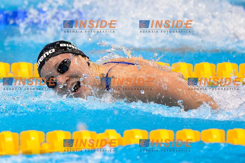 Ilaria BIANCHI ITA<br /> 100m butterfly women Final <br /> London, Queen Elizabeth II Olympic Park Pool <br /> LEN 2016 European Aquatics Elite Championships <br /> Swimming<br /> Day 11 19-05-2016<br /> Photo Andrea Staccioli/Deepbluemedia/Insidefoto